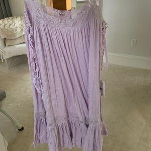Free people lavender dress NWT